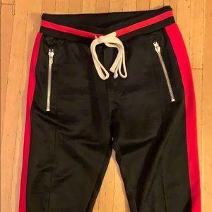 Mnml designer men's joggers size Sm